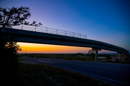 Bridge over FM1781 at Sunset Photo by: Beyond Memory Photography