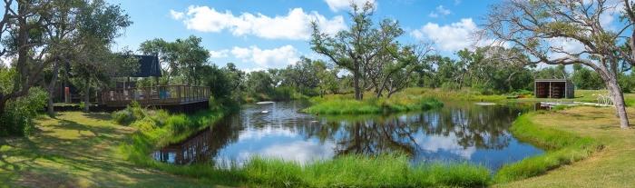 Camp Aranzazu's kayak pond